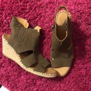 Franco Sarto Wedge Sandals size 11
